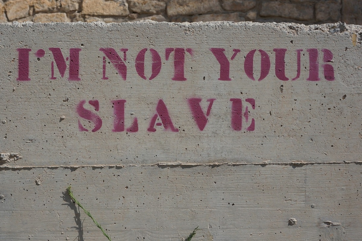 I am not your slave. (Foto: AHTmedia, Pixabay.com, Creative Commons CC0)