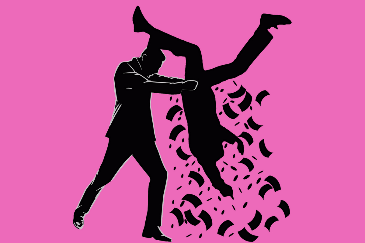 Shakedown. (Illustration: Neue Debatte mit Material von Perlinator, Pixabay.com, Creative Commons CC0)