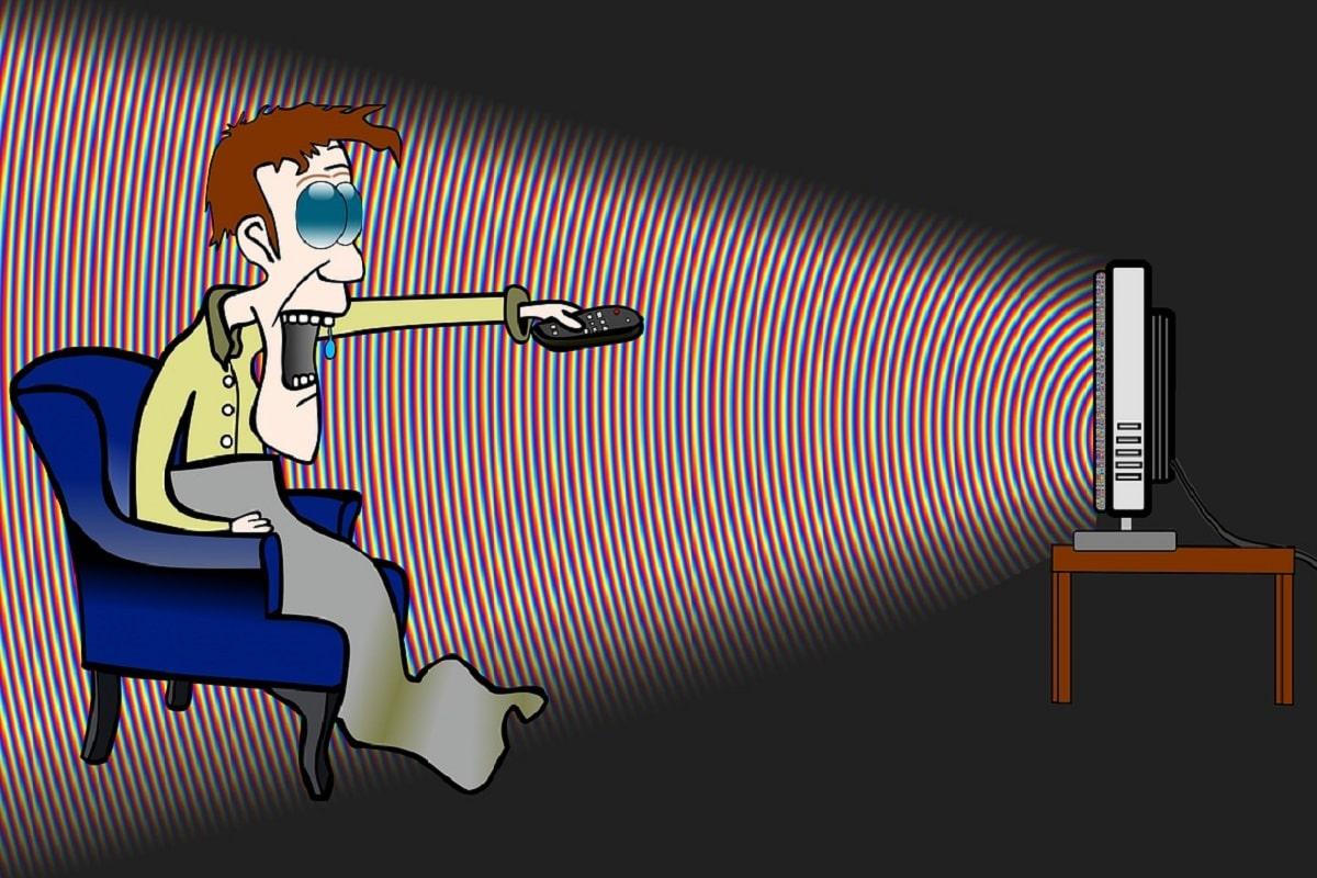 Verdummung durch TV und Medien. (Grafik: Conmongt, Pixabay.com,Creative Commons CC0)