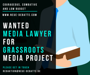 Wanted Media Lawyer 10082018 Banner Neue Debatte