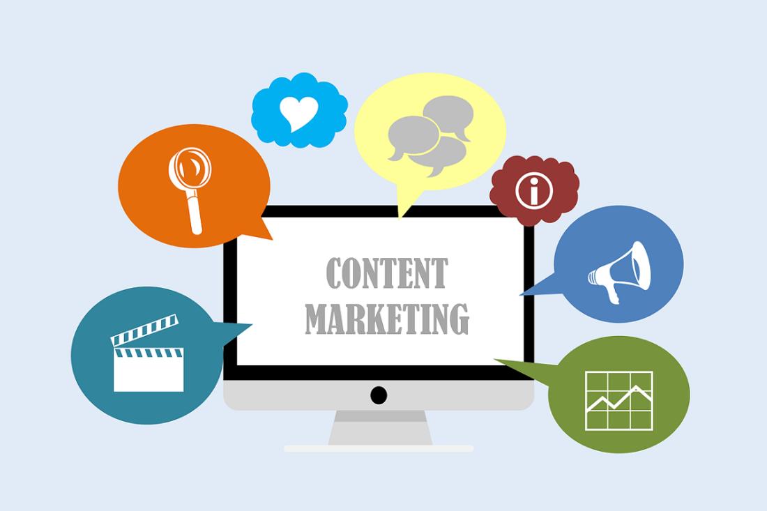 Content und SEO Marketing. (Illustration: Tumisu, Pixabay.com;Creative Commons CC0)