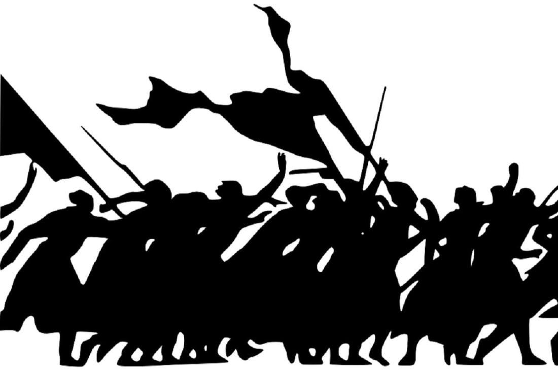 Revolution. (Illustration: Clker-Free-Vector-Images, Pixabay.com,Creative Commons CC0)