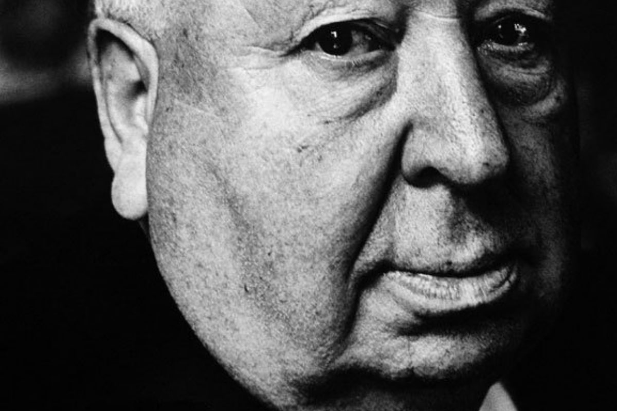 Alfred Hitchcock 1972. (Foto: Jack Mitchell, CC BY-SA 4.0, Format angepasst durch Neue Debatte.)