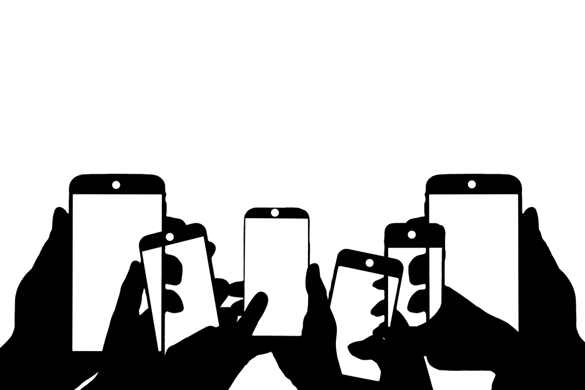 Smartphone. (Illustration: Geralt, Pixabay.com; Creative Commons CC0)