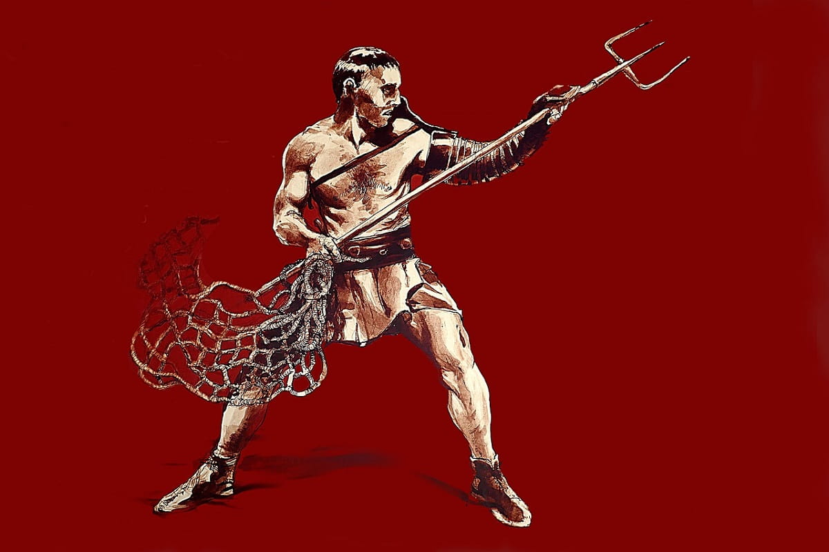 Gladiator. (Illustration: Guy Dugas, Pixabay.com, Creative Commons CC0)