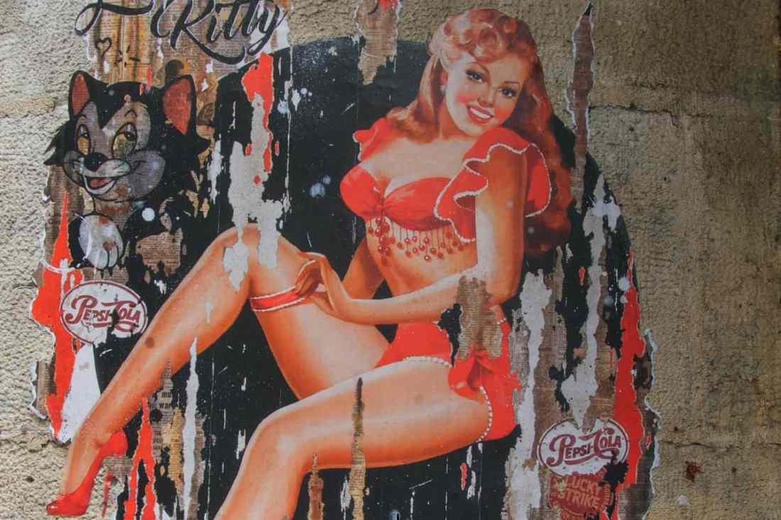 Wandbild in der Rue des Rosiers in Paris, Frankreich. (Foto: Pascal Bernardon, Unsplash.com)