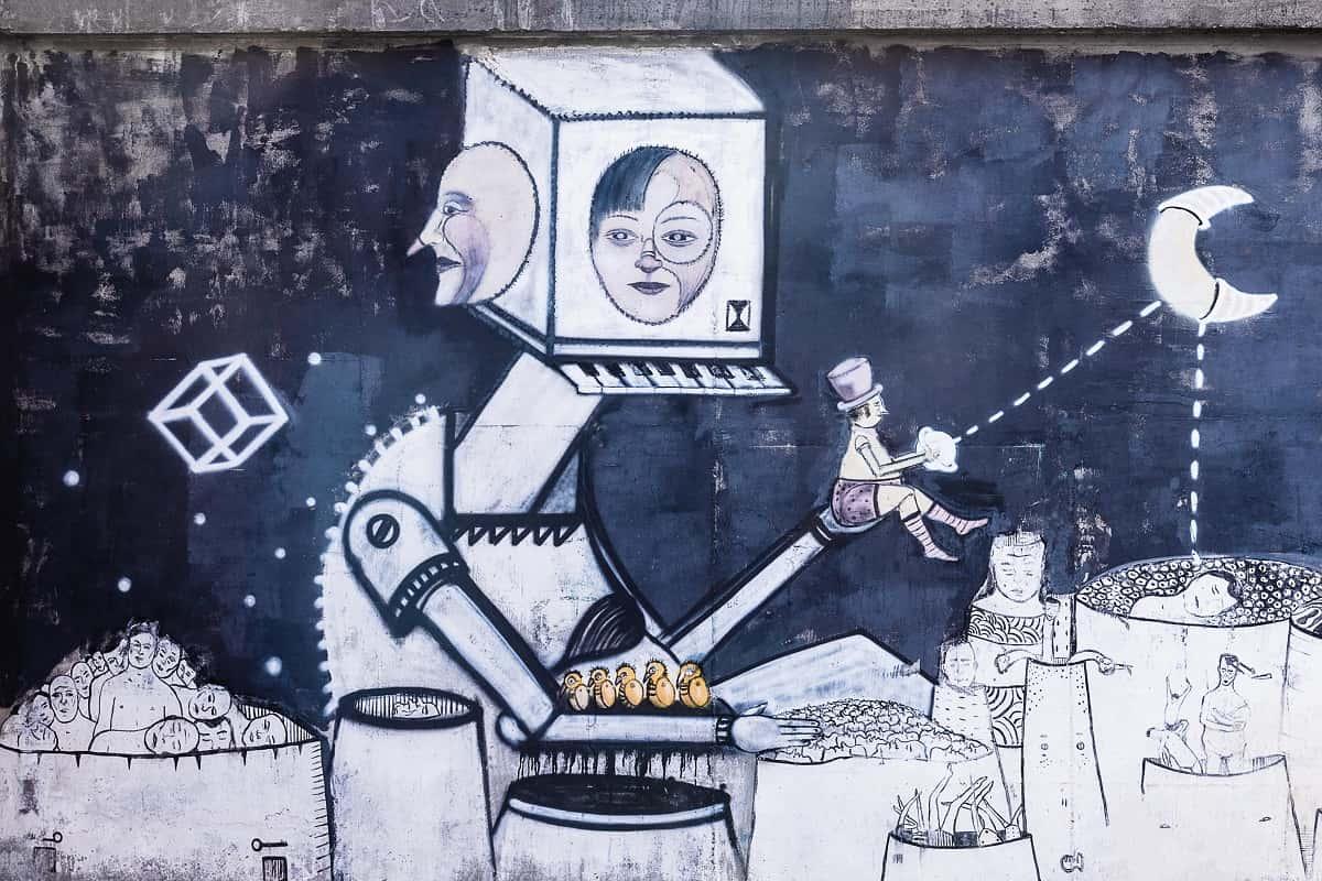 Street Art. (Foto: Pawel Czerwinski, Unsplash.com)